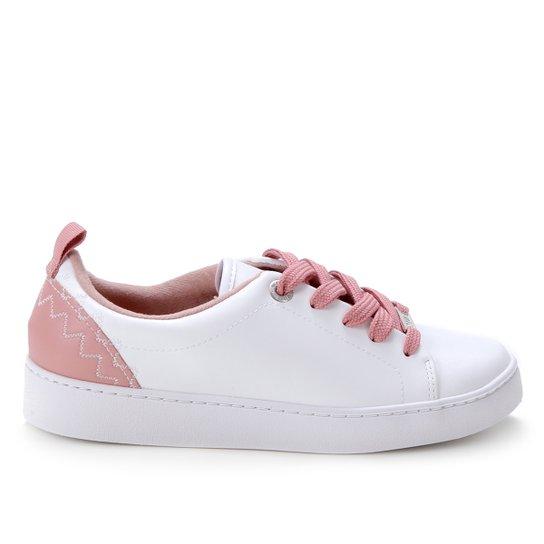 Tênis Vizzano Bicolor Feminino - Branco+Rosa