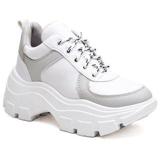 Tênis Yes Basic Chunky Plataforma Sneaker Conforto Feminino