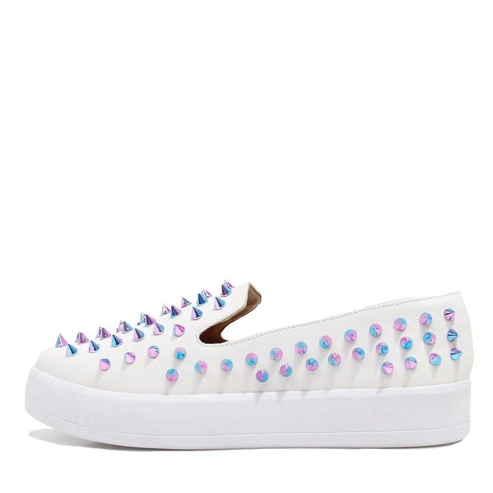 Tênis Shoes Zariff Off Zariff White Loafer Spike Flatform Tênis Shoes Flatform Loafer Spike SprS0Rq