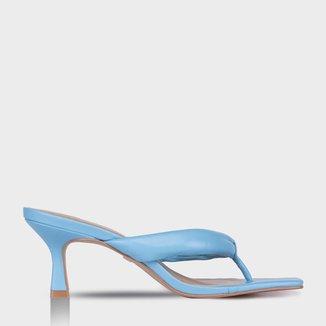 Thong Sandal Salto Médio Feminino