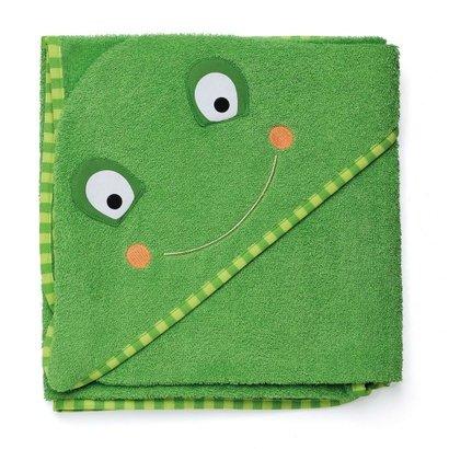 Toalha de banho Infantil Skip Hop - Linha Zoo - Coleção Sapo
