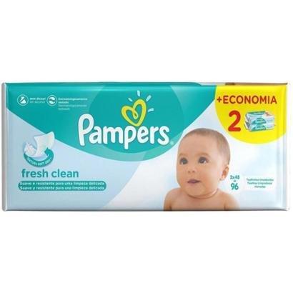 Toalhinhas Umedecidas Pampers Fresh Clean