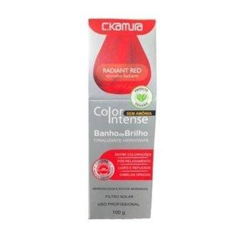 Tonalizante Color Intense Radiant Red 100g - C.KAMURA
