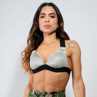 Top Chris Sports Fitness Feminino