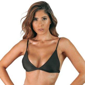 Top de Biquíni Naked Swimwear Gaia Fixo com Reguladores Feminino
