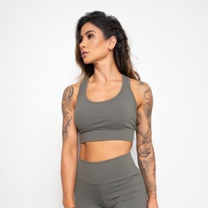Top Fitness Liso  Com Bojo-Feminino