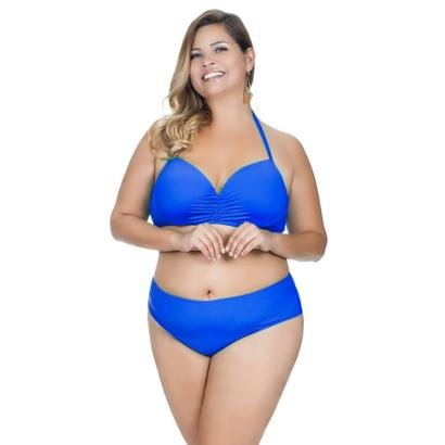 Top Plus Size Meia Taça Inteiriço Agridoce Feminino