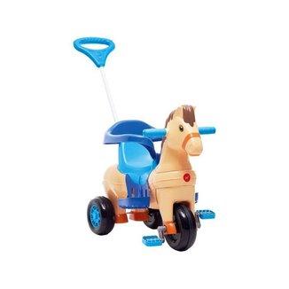 Triciclo Infantil Calesita com Empurrador