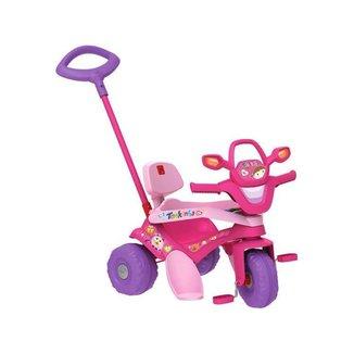 Triciclo Infantil Tonkinha com Empurrador