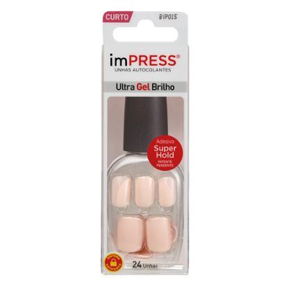 Unhas Autocolantes ImPRESS - Color Curto Bubble Gum 1 Un