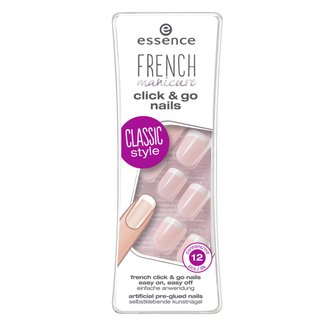 Unhas Postiças Francesinha Essence Kit