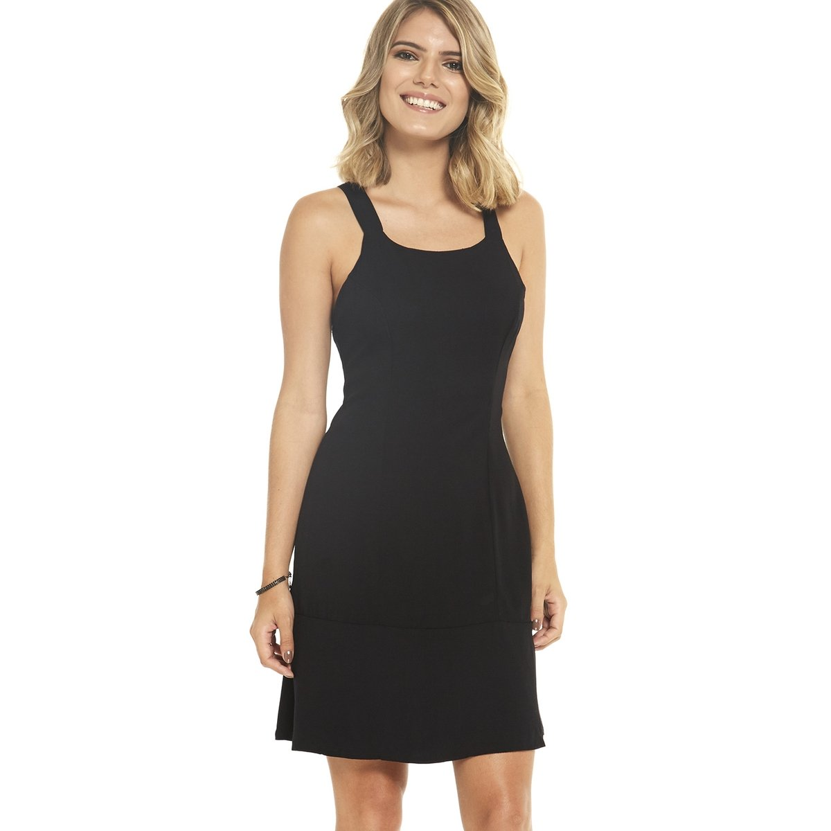 8e01c730c Vestido Alça Larga Basic | Zattini