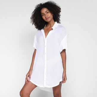 Vestido All Is Love Curto Chemise Voil