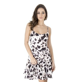 Vestido Animal Print Calvin Klein