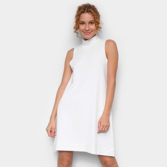 Vestido Avanzi Curto Gola Alta Básico