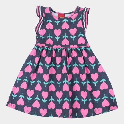 Vestido Bebê Kyly Coração