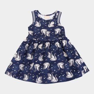 Vestido Bebê Milon Moletinho Leve Origami