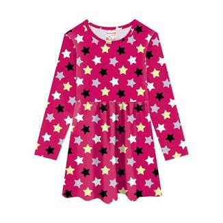 Vestido Brandili Em Malha Algodão Menina Infantil