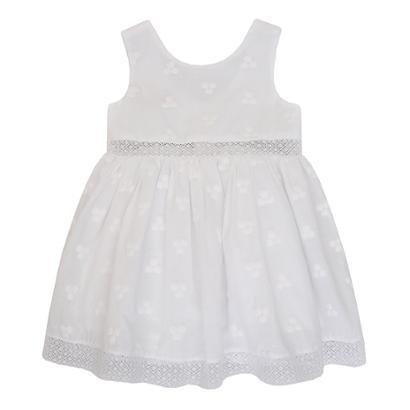 Vestido Calcinha para Bebê Cambraia 1mais1