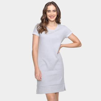 Vestido Calvin Klein Moletom T-Shirt