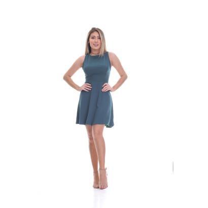 Vestido Clara Arruda Detalhe Tule Feminino-Feminino