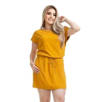 Vestido Clara Arruda Linho Utilitário 50574