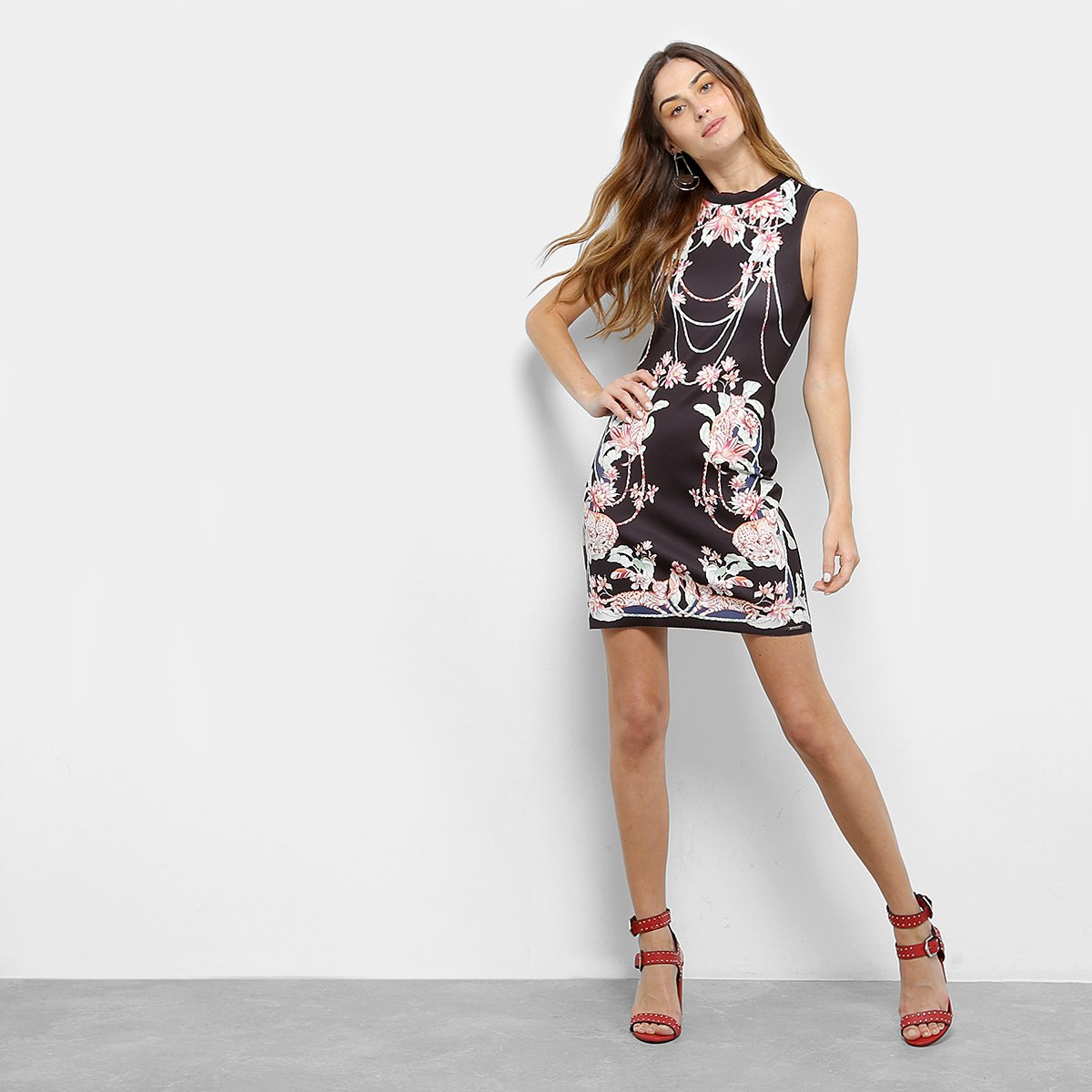eeedf7809 Vestido Colcci Curto Tubinho Estampa Floral - Compre Agora | Zattini