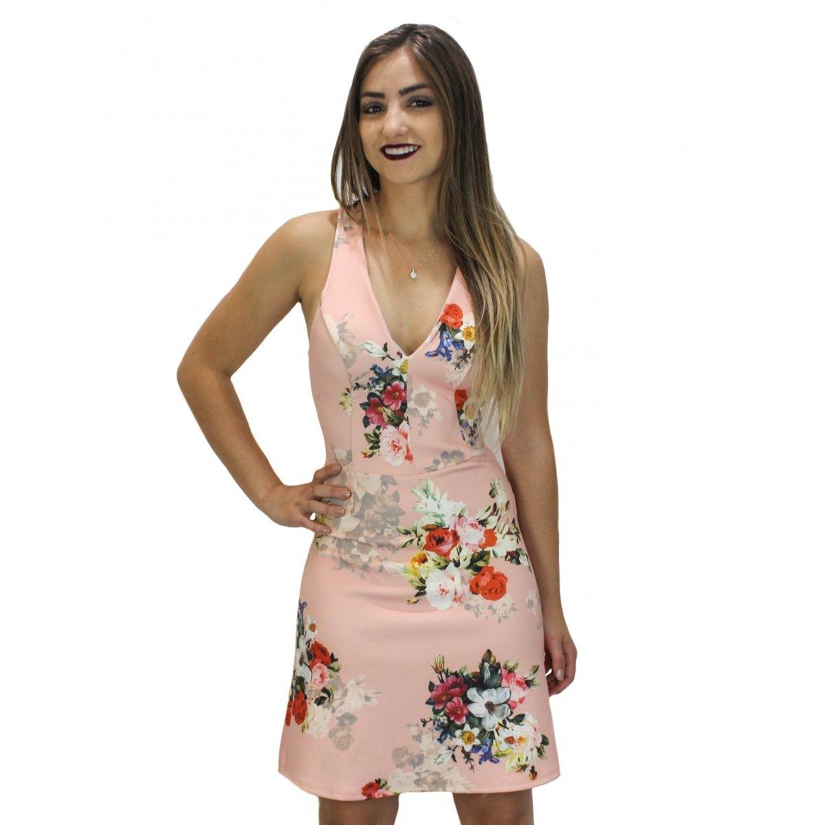 c04a7c066 Vestido Colcci Floral Feminino | Zattini