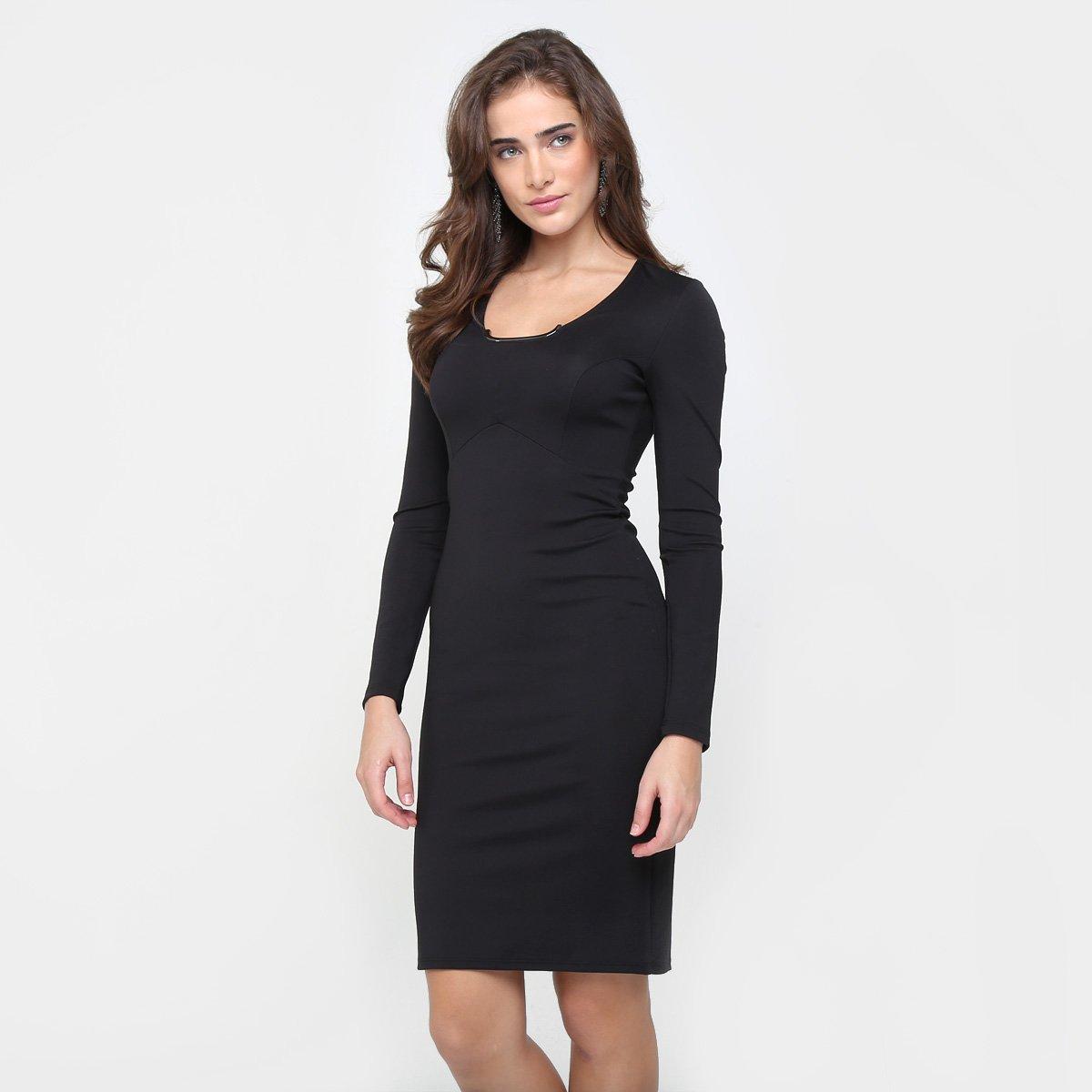 84c562600 Vestido Colcci Midi Ferragem Gola - Compre Agora | Zattini