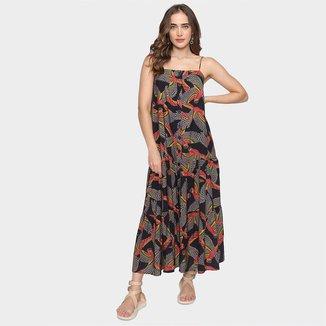 Vestido Cropped Farm Araras Ancestrais Feminino