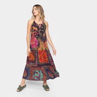 Vestido Cropped Farm Beleza Mix Feminino