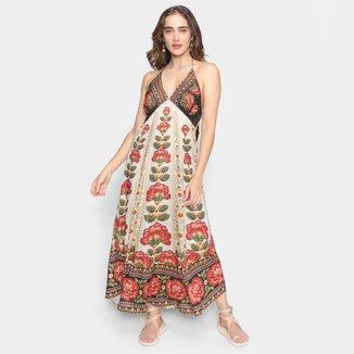 Vestido Cropped Farm Flor Nascente Feminino