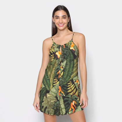 Vestido Curto Farm Tucano Feminino