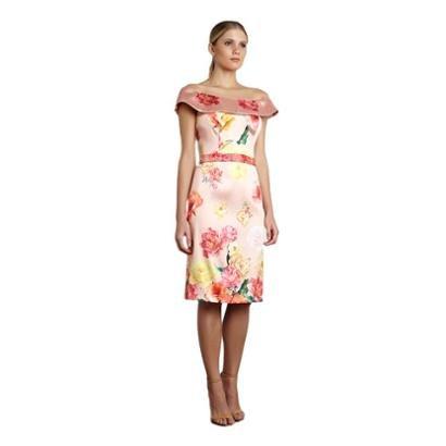 Vestido Curto Izadora Lima Brand Em Zibeline Feminino-Feminino