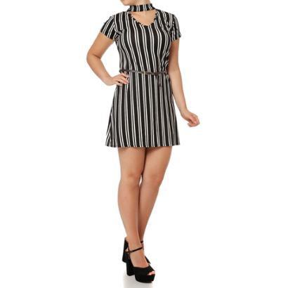 Vestido Curto La Gata-Feminino