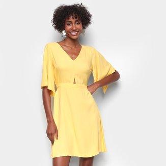Vestido Curto Mercatto Amarração Feminino