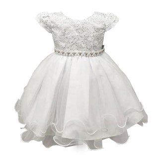 Vestido de Festa Infantil Daminha Luxo Feminino