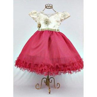 Vestido de Festa Infantil Feminino