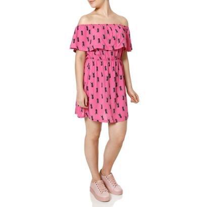 Vestido Disfrutti Ciganinha Feminino-Feminino