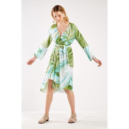Vestido Est Saint Tropez Sacada Feminino
