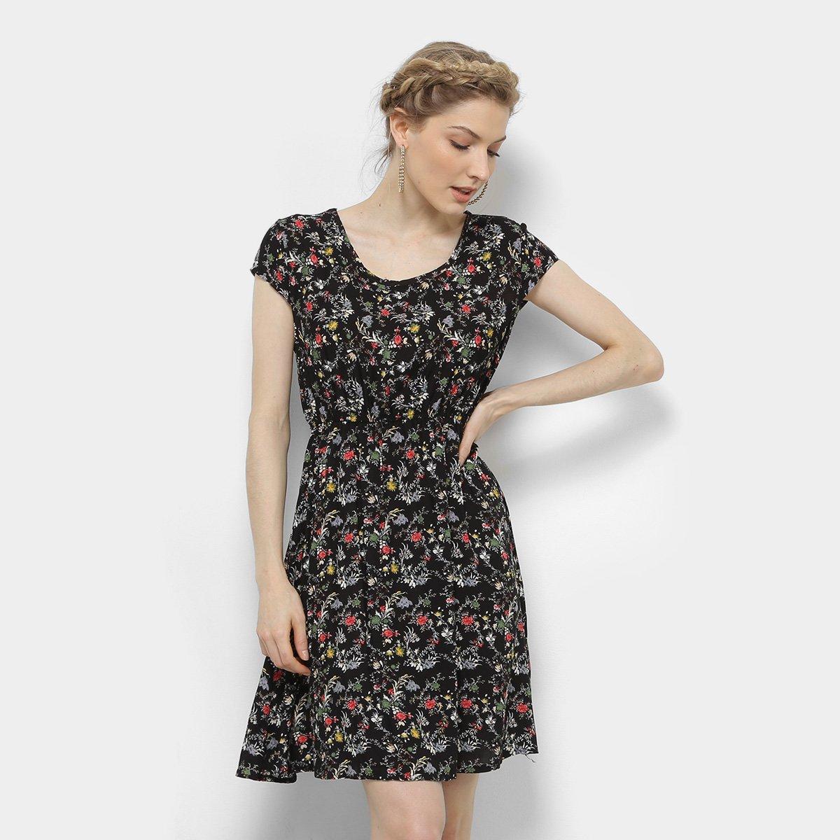 Vestido Estampado Pérola Feminino - Compre Agora  e9a0e6aebf3fb