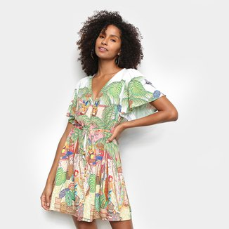 Vestido Farm Burburinho Feminino
