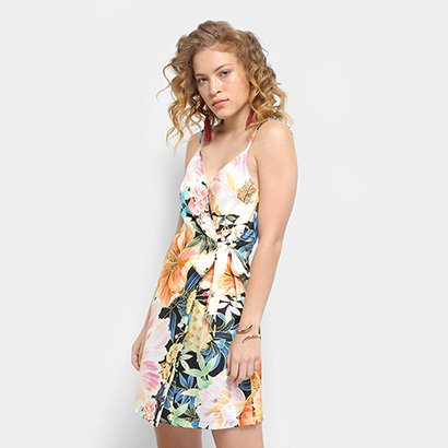 Vestido Farm Estampado Maxi Floral