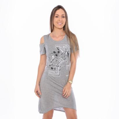 Vestido Hiatto Bioconcept Silver-Feminino