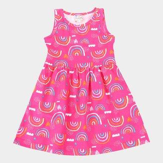Vestido Infantil Brandili Raibown