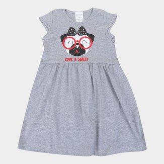 Vestido Infantil Candy Kids Estampado Feminino
