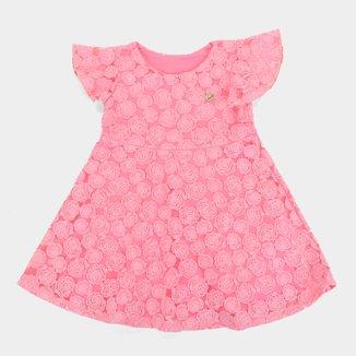Vestido Infantil Elian Festa Tule