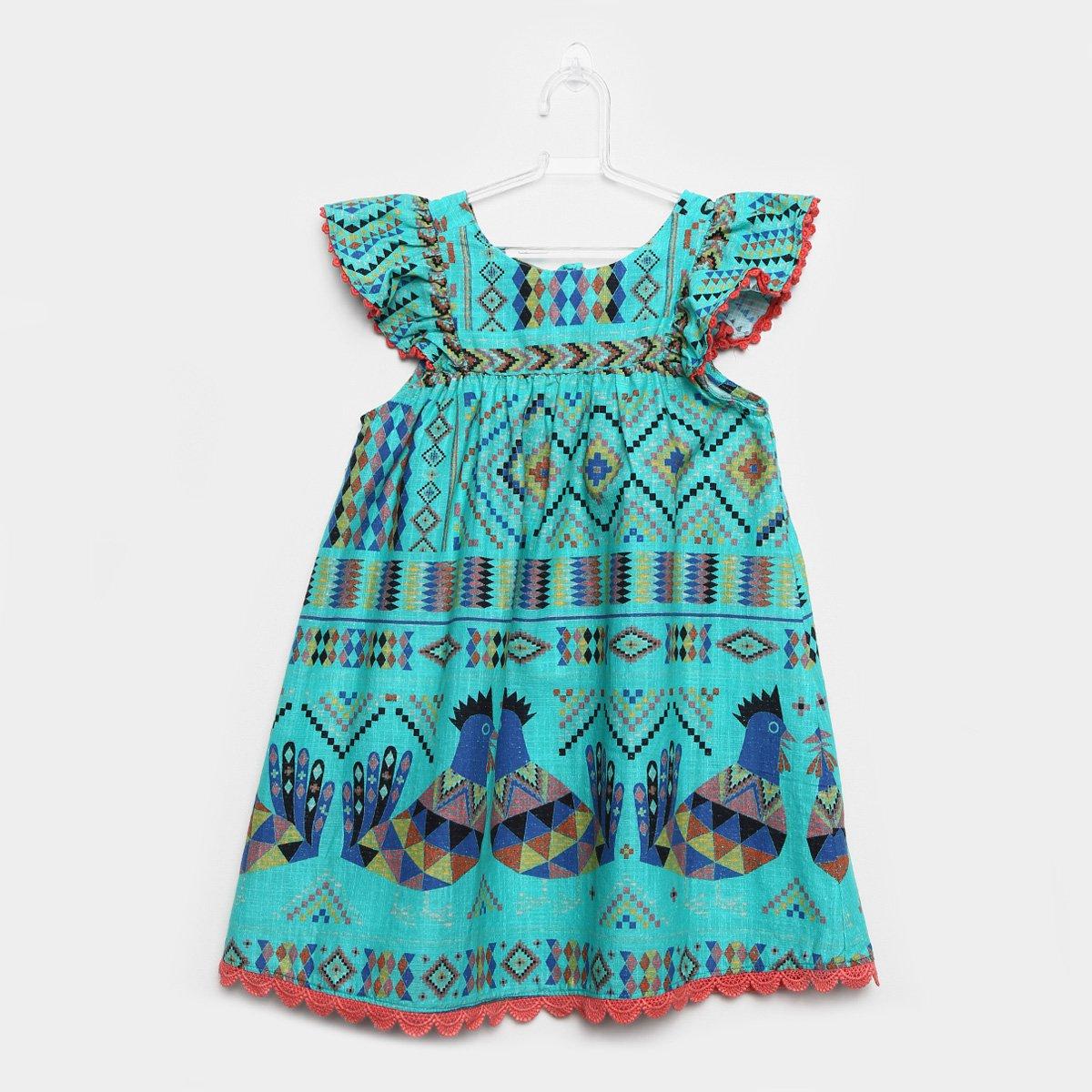 A fabula do vestido azul