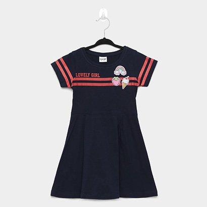 Vestido Infantil Fakini College Lovelly Girl