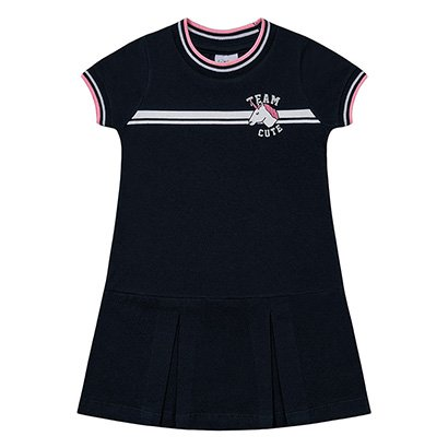 Vestido Infantil Fakini Unicórnio Malha